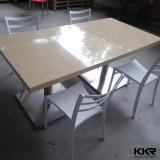 Tableau dinant de marbre extérieur solide acrylique de modèle moderne premier