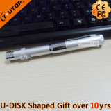 Double Laser Light Pen Style Gift USB Flash Drive (YT-7105)