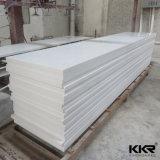Superfície sólida branca pura Superfície sólida artificial de pedra acrílica