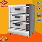 Tellersegment-elektrischer Backen-Ofen des Fabrik-Preis-3 der Plattform-6 für Großverkauf