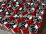 38의 AWG, 155 도, 빨간색 사기질 구리 자석 철사