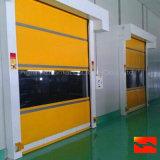 Porte à grande vitesse automatique d'alliage d'aluminium