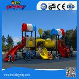 Speelplaats van de Apparatuur van de Gymnastiek van de Kleuren van de Kinderen van de luxe de Commerciële Rijke Openlucht