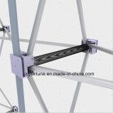 Le ressort en aluminium de tube rond plat de forme de qualité sautent vers le haut le stand