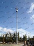 Illuminazione palo esterna durevole galvanizzata Hot-DIP
