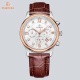 Cronografo automatico Watch72157 dell'acciaio inossidabile del diamante degli uomini della vigilanza luminosa di Wirst