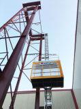 Xmt 1000kg escoge el elevador de la construcción de la jaula para la venta