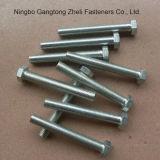 Boulons Hex lourds galvanisés des dispositifs de fixation DIN933