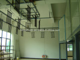 Ventilator zerteilt Puder-Beschichtung-Produktionszweig