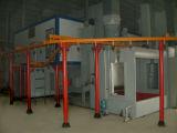 Línea de capa electrostática automática del polvo para los productos de metal
