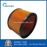 진공 청소기를 위한 주황색 양철통 필터