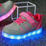 3 Couleur PU Loisirs & Confort LED Light Up Kids Shoes