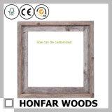 Frame de retrato natural personalizado da madeira contínua para a decoração