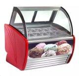 Vetrina della visualizzazione del frigorifero del gelato (WBQ-806)