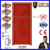 Diseño de madera de las puertas del dormitorio moderno