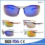 Солнечные очки спорта способа холодными поляризовыванные людьми с рамкой серебра золота