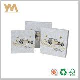 Het witte OEM van het Vakje van de Cilinder van het Vakje van het Vakje van de Gift Kosmetische Vakje van het Document van de Verpakking