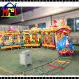 Conjunto de interior del patio del elefante del tren del juguete eléctrico de la diversión