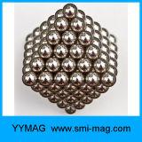 Forma de la bola y el imán de NdFeB Compuesto 5m m Bolas magnéticas Bolas magnéticas a granel