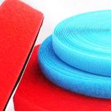 Qualitäts-blauer kundenspezifischer Nylonhaken und Schleife