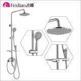 Bronze Multi-Function &#160 da alta qualidade do projeto novo; Misturador do chuveiro de chuva com prateleira e pulverizador