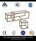Mesa de centro robusta Hzct098 con los taburetes jerarquizados