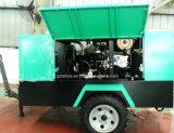 Kaishan LGCY-10/10トレーラーによって取付けられるCumminsディーゼルねじ空気圧縮機