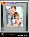 Marco de madera de la foto del arte de la mano del regalo del día de padre