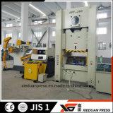 Imprensa progressiva resistente de transferência de 260 toneladas do alimentador da bobina
