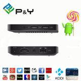 2016 casella di Bluetooth 4.0 Android5.1 TV dei bit della casella 64 di alta qualità A95X 1g 8g Amlogic S905X TV