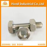 Noix Hex de l'acier inoxydable S31803 DIN934 de Duples