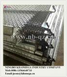 高炭素の鋼鉄粉砕機スクリーンの網