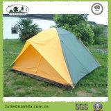 6 Personen-doppelte Schicht-kampierendes Zelt mit Volldeckung