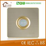 16A 2 Methoden-Druckknopf-Licht-Wand-Schalter der Gruppe-2