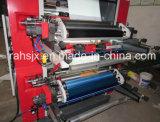 Impresora flexográfica del color del papel doble del alimento