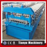 Gewölbtes Aluminium galvanisiertes Metalldach-Blatt-Walzen, das Maschine bildet