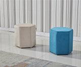 직물 Otoman 또는 아이들 의자 또는 갯솜 발판