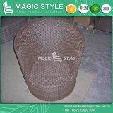 Sofa réglé de rotin de sofa extérieur de loisirs avec le coussin (type magique)