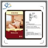 Cartão chave do hotel esperto do cartão de 125kHz RFID