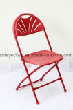 Metallfalz-Stuhl mit Plastiksitz