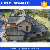熱い販売の多彩な石の上塗を施してある鋼鉄屋根瓦