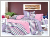 Microfiber 보통 염색된 최고 침대 시트 세트 또는 침구 세트
