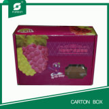 Caixa de embalagem do papel ondulado em vendas quentes