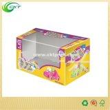 Прокатанные коробки игрушки окна конструкции (CKT-CB-407)