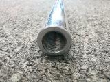 pipe filetée Polished en aluminium de l'extrusion 6061t6 avec l'usinage