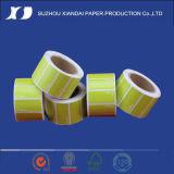 Les étiquettes de courant ascendant de la qualité CAS de roulis de papier thermiques les plus populaires du marché