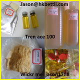 Massenpreis Trenbolone Azetat-Steroid Puder-halb fertiges Steroid Öl