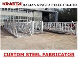 O aço de aço feito sob encomenda da soldadura da fabricação parte o construtor de aço