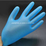 Los guantes disponibles del PVC del examen/los guantes del vinilo con el polvo y el polvo liberan