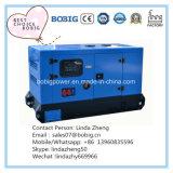 generatore silenzioso di Wetherproof del baldacchino di 80kw 100kVA con il motore Wp4.1d100e200 di Weichai